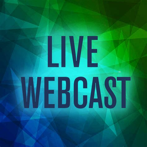 for live live webcasts the dca page