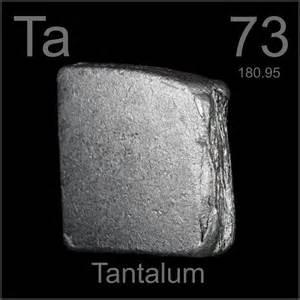 Tantalum Protons Neutrons Electrons Excelchemistry Tantalum