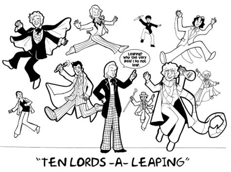 ideas for 10 lords a leaping 12 days of coloring pages 10 a leaping sketch coloring page