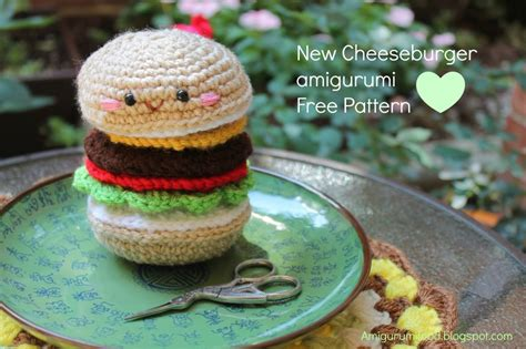 amigurumi hamburger pattern free free crochet hamburger patterns archives crochet kingdom