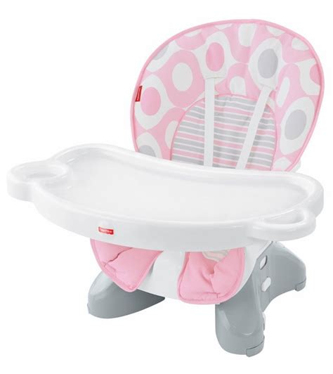 Space Saver High Chair Fisher Price by Fisher Price Spacesaver High Chair Pink Ellipse