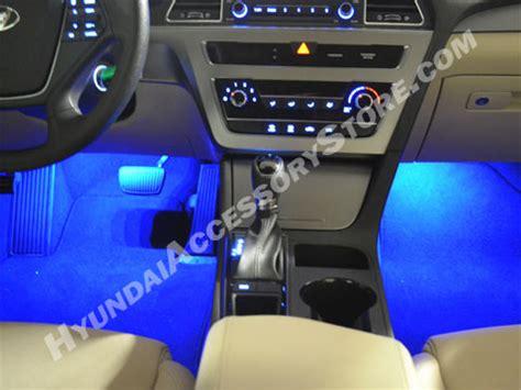 2015 17 hyundai sonata interior led lighting kit