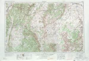 salina topographic map sheet united states 1970 size