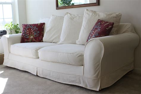 Modern Slipcover Sofa Project Gallery Twill Slipcover Studio