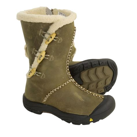 keen winter boots keen kaley leather winter boots for youth 2468c save 28
