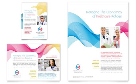 insurance consulting flyer ad template design