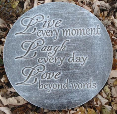Garden Rocks With Sayings Pinterest