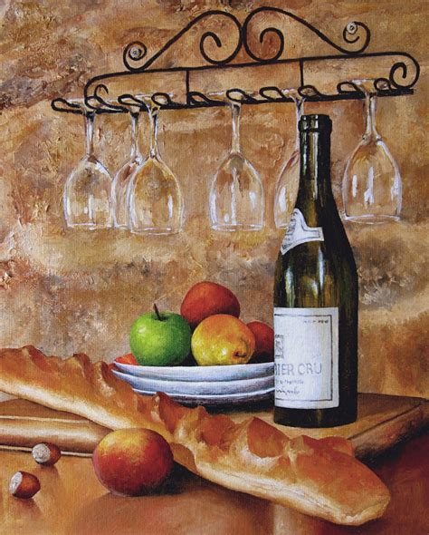 Kitchen Paintings | artwork by johanna