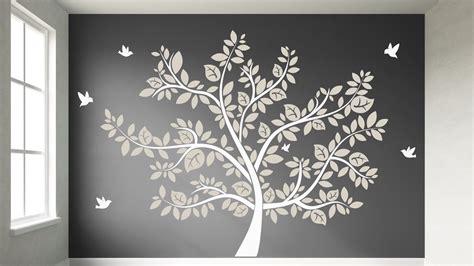 Wandtattoo Kinderzimmer Baum Weiss by Wandtattoo Wei 223 Er Baum Reuniecollegenoetsele