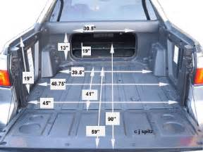 silverado truck bed dimensions autos post
