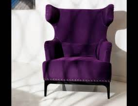 Purple Velvet Armchair Nella Vetrina Visionnaire Ipe Cavalli Single Katie Purple
