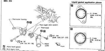 2001 Nissan Pathfinder Thermostat Nissan 2000 Frontier Ka24e Engine Diagram Get Free Image