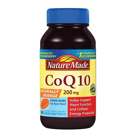 Natures Health Nano Coq10 60mg 30soft Gel nature made coq10 200 mg dietary supplement liquid