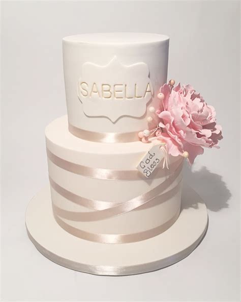 Christening Cakes by Christening Cakes Something About Cake