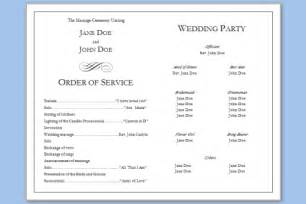 Programs For Weddings Templates Folded Wedding Program Template Wedding Programs Templates