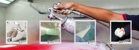 temporary peel wall paint temporary peelable protective paint for signs and spray booths
