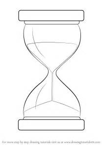 how to draw learn how to draw an hourglass everyday objects step by