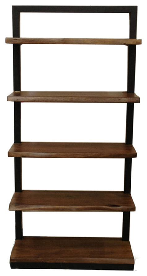 organic wood bookcase
