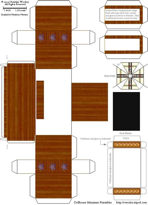 8 best images of printable furniture templates free