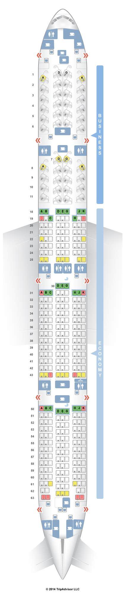 boeing 777 300er jet seating plan boeing 777 300er jet seating plan