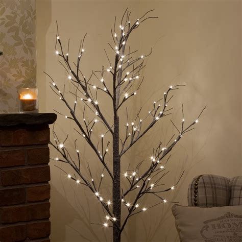 180cm snow twig tree with 120 warm white led s festive