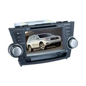 2010 Toyota Highlander Bluetooth Toyota Highlander 2008 2013 Radios Touchscreen Dvd Gps Usb