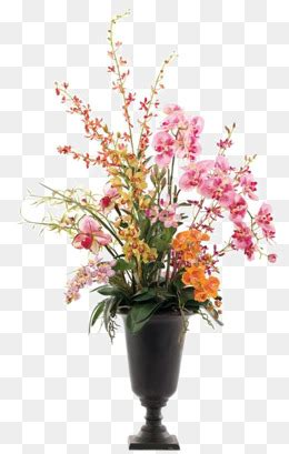 flower vase png images vector  psd files    pngtree