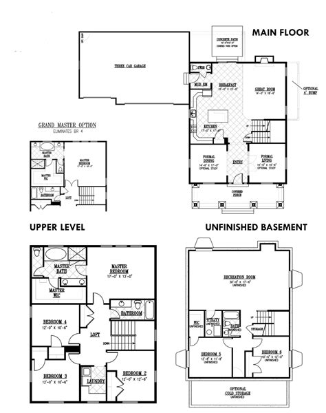 100 garbett homes floor plans heights park