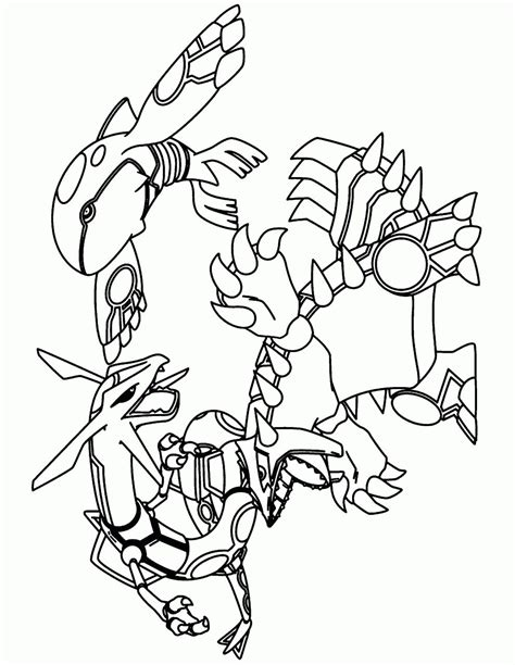 legendary pokemon coloring pages rayquaza legendary pokemon coloring pages rayquaza part 2 free