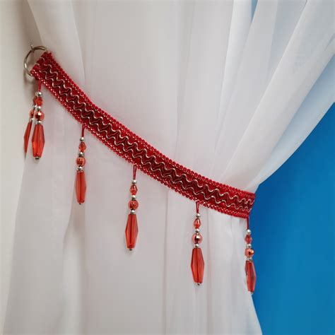 beaded curtain tie backs 78 curtain tie backs to take inspiration from patterns hub