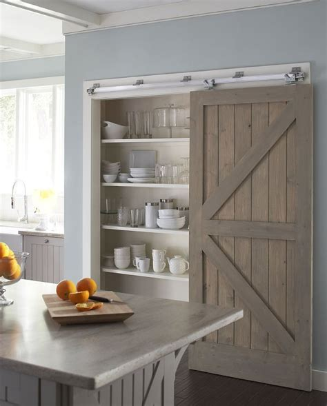 Barn Door In Kitchen 10 Kitchen Trends For 2017
