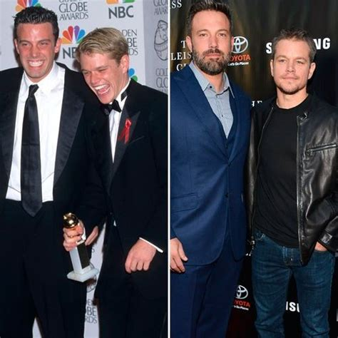 matt damon then and now see ben affleck and matt damon plus more best