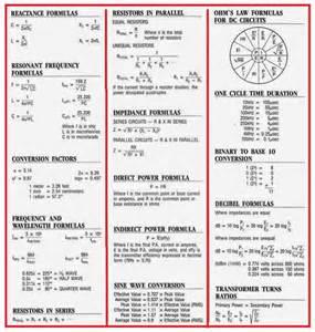 very important electrical formulas eee community
