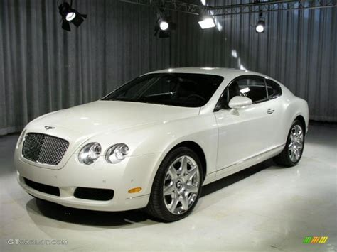ghost bentley 2006 ghost white pearlescent bentley continental gt