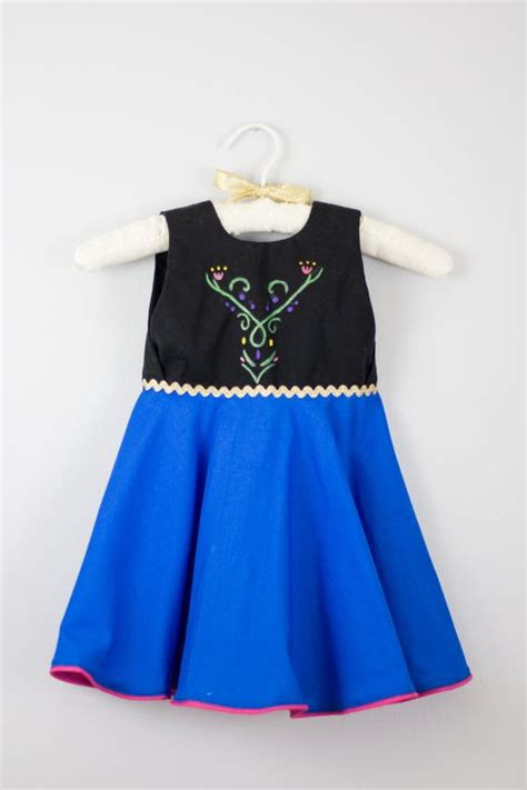Handmade Disney Costumes - 2t frozen princess dress handmade everyday wear