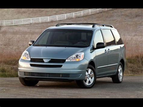 toyota in california sell 2004 toyota sienna in los angeles california peddle