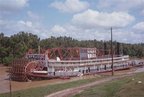 mississippi paddle boat sprague river paddle boat vicksburg mississippi old