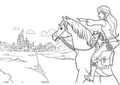 crayola photo barbie coloring pages online 4079