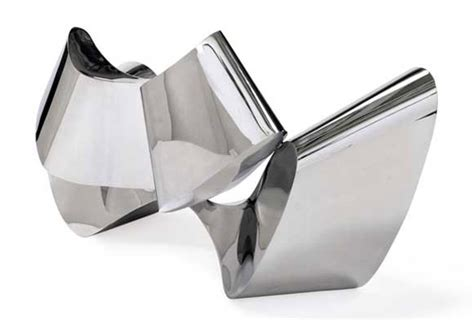 ron arad stainless steel sofa 300 000 mirror polished stainless steel sofa by ron arad
