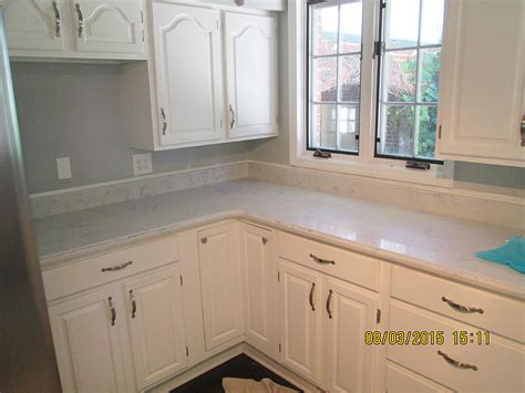 Granite Countertops Green Bay Wi by Quartz Kitchen Countertop W Ogee Edge Crafted