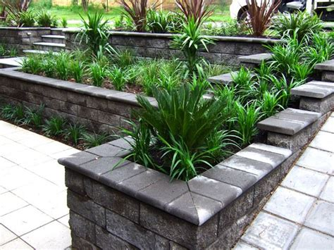 front garden retaining walls 17 best images about retaining wall ideas on