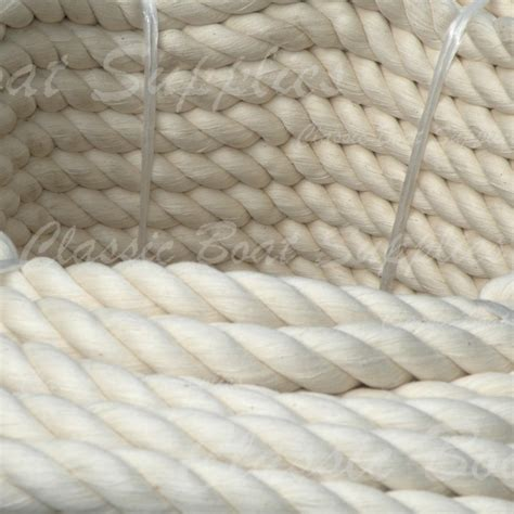 classic boat supplies nz new product twisted cotton rope classic boat supplies