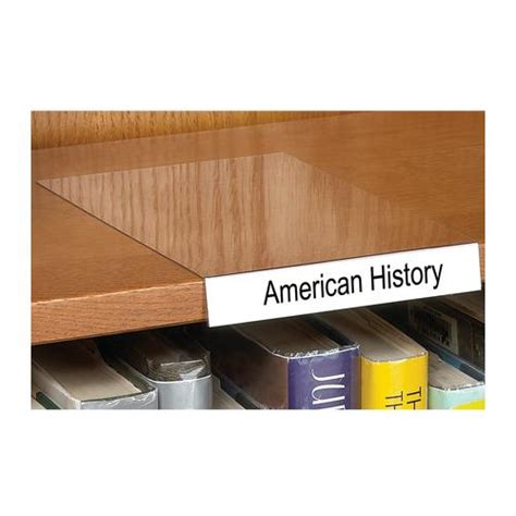 Shelf Labels by Aigner Label Holder Movable Shelf Label Holders