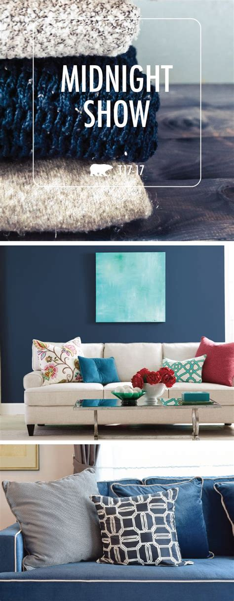 behr paint colors midnight show 17 best images about new home inspiration on