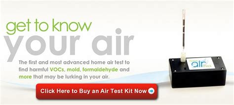indoor air quality test kit used by the pros for sick