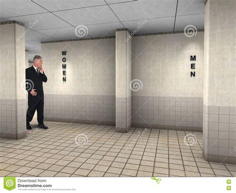 public bathroom men funny man wrong public restroom stock photo image 72464841