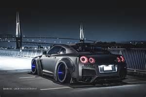 Nissan gt r by liberty walk rear photo airrex air suspension