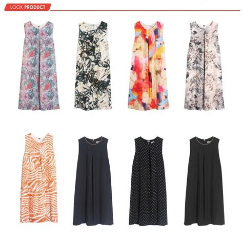 Longdress Wanita New Monic Flower Set new h m branded printed dress 6 motif quality dress wanita baju wanita