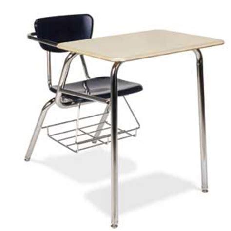 high school desk virco solid plastic top chair desk w bookrack 3400brm combo chair desks worthington direct