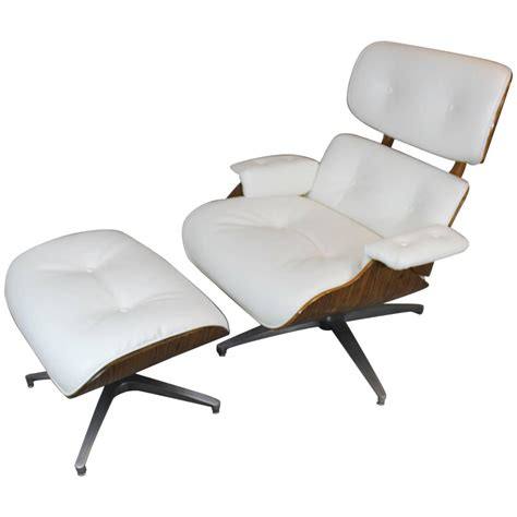 eames style lounge chair and ottoman eames style lounge chair and ottoman at 1stdibs